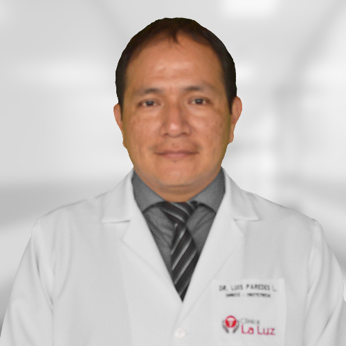 Dr. Luis Alfredo Paredes Loli