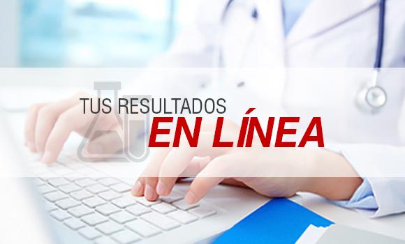 Resultados de Laboratorio Online