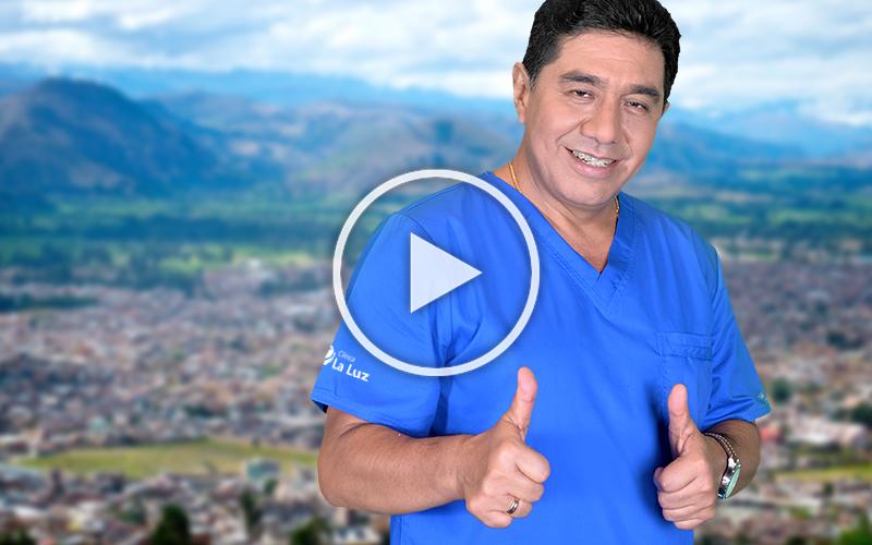 (VIDEO) El Dr. Fermín Silva continúa la lucha contra la ceguera en Cajamarca