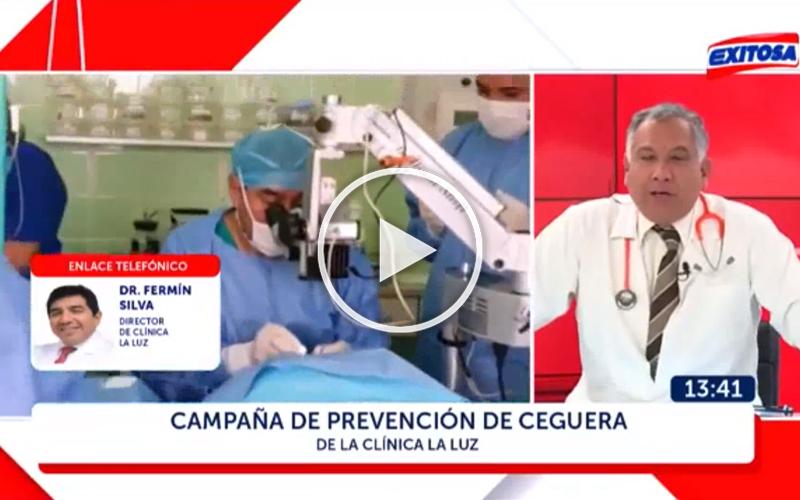 (VIDEO) Enlace en Vivo con el Dr. Fermín Silva desde Chiclayo