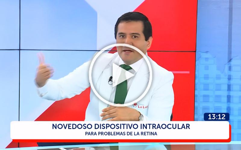 (VIDEO) Dr. Sergio Sánchez: Nuevas Tecnologías en el Tratamiento de la Retina