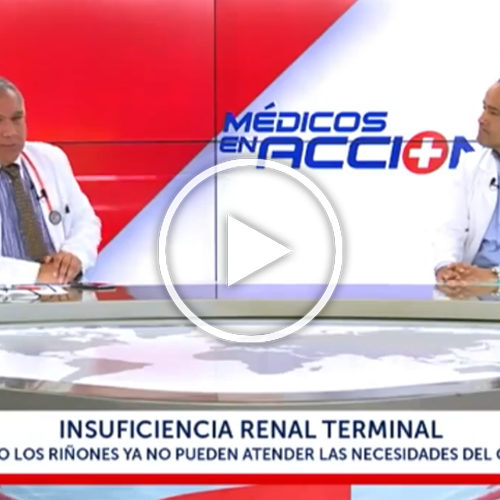 (VIDEO) Dr. David Chalco: La peligrosa Insuficiencia Renal Terminal
