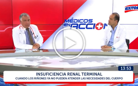 (VIDEO) Dr. David Chalco: La peligrosa Insuficiencia Renal Terminal