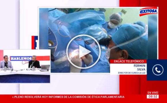(VIDEO) Enlace en vivo con el Dr. Fermín Silva desde Cajamarca