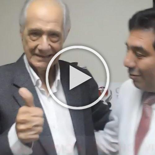(VIDEO) ¡El gran Guillermo Rossini visita la Clínica La Luz!
