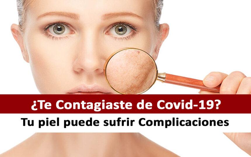 Complicaciones en la piel por el COVID-19